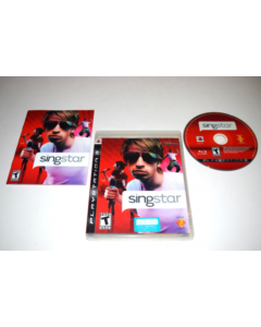 SingStar Playstation 3 PS3 Video Game Complete