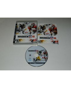 Madden NFL 10 Playstation 3 PS3 Video Game Complete