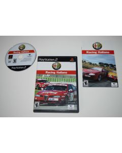 Alfa Romeo Racing Italiano Playstation 2 PS2 Video Game Complete