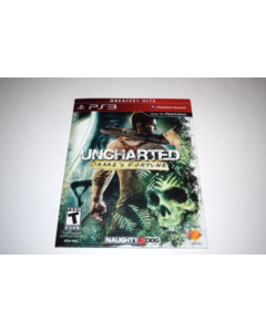 Uncharted Drake's Fortune NOT FOR RESALE Playstation 3 PS3 New Sealed in Sleeve
