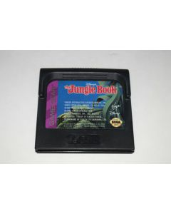 Disney's The Jungle Book Sega Game Gear Video Game Cart