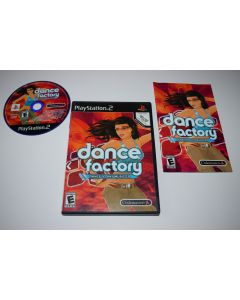 Dance Factory Playstation 2 PS2 Video Game Complete