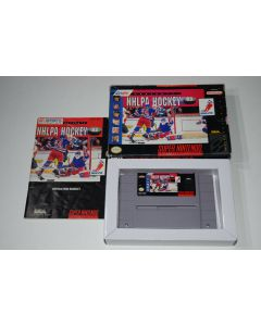 NHLPA Hockey '93 Super Nintendo SNES Video Game Complete in Box