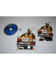 NBA Live 2008 Nintendo Wii Video Game Complete