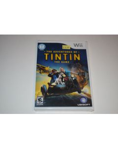 Adventures of Tintin The Game Nintendo Wii Video Game New Sealed