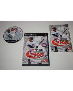 Major League Baseball 2K6 Playstation 2 PS2 Video Game Complete