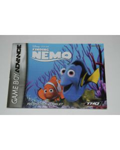 Finding Nemo Nintendo Game Boy Advance Video Game Manual Only