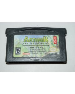Arthur and the Invisibles Nintendo Game Boy Advance Video Game Cart