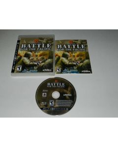 History Channel Battle For the Pacific Playstation 3 PS3 Video Game Complete