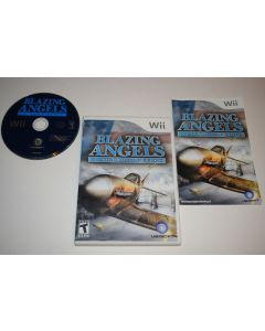 Blazing Angels Squadrons of WWII Nintendo Wii Video Game Complete
