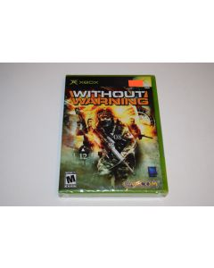 Without Warning Microsoft Xbox Video Game New Sealed