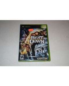 Beat Down Fists of Vengeance Microsoft Xbox Video Game New Sealed